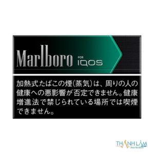 Marlboro Black Menthol vị bạc hà mạnh